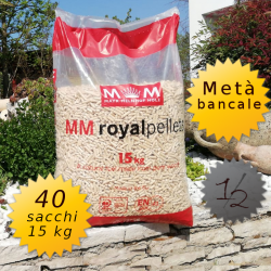 Meta' bancale MM royal pellets